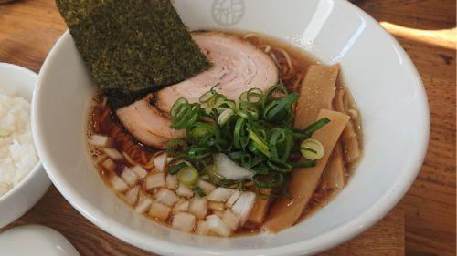 藤枝市麵屋花枇のラーメン