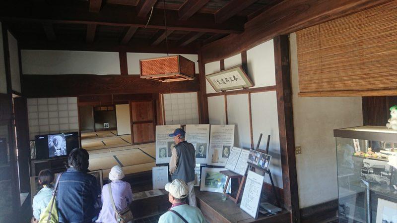 渋沢栄一生家の資料展示