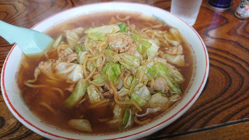 スープ入り焼きそばを食べた!