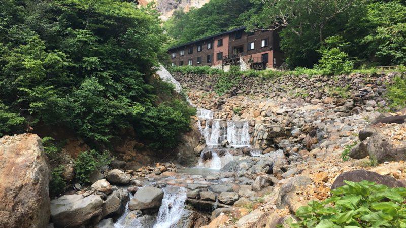 姥湯温泉の一軒旅館、桝形屋