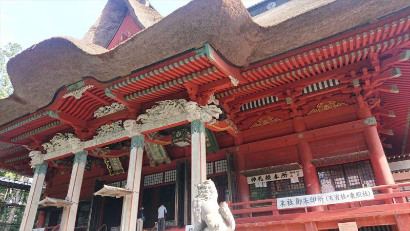 羽黒山山頂の「三神合祭殿」は見ごたえ充分!