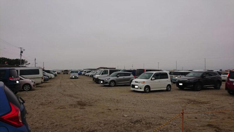 ゆりあげ港朝市駐車場