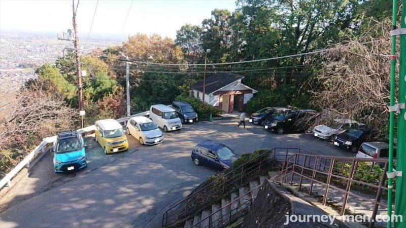太平山神社前駐車