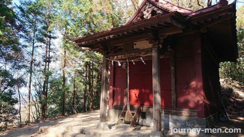 太平山神社から富士浅間神社へ