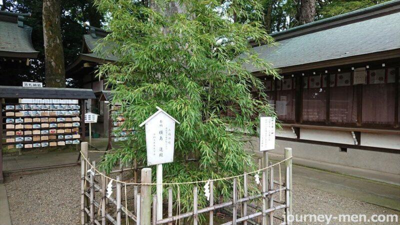 三岐の竹の伝説